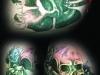 cloverskull-skullandroses